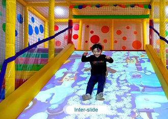 Китай Interactive floor game projector interactive projection wall children game machine завод