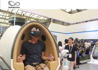 Amusement Park 9D VR Cinema Simulator / 9D Egg Chair With Motion Platform