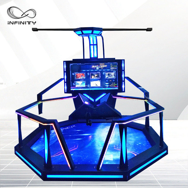Fashion Exclusive 9D VR Shooting Simulator For Game Zone /  Theme Park
